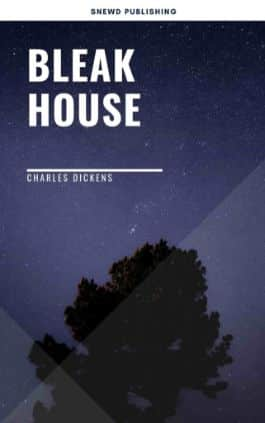 The cover of the book Bleak House by Charles Dickens. This picture also points to a copy of the book in PDF, EPUB, AZW3 and MOBI formats available to download for free on Snewd.com.