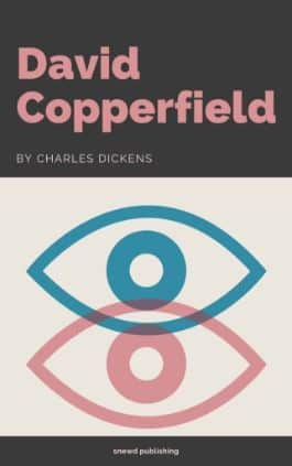 The cover of the book David Copperfield by Charles Dickens. This picture also points to a copy of the book in PDF, EPUB, AZW3 and MOBI formats available to download for free on Snewd.com.