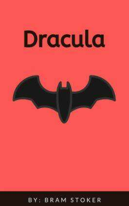 The cover of the book Dracula by Bram Stoker. This picture also points to a copy of the book in PDF, EPUB, AZW3 and MOBI formats available to download for free on Snewd.com.
