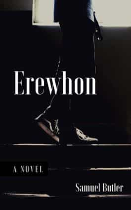 The cover of the book Erewhon by Samuel Butler. This picture also points to a copy of the book in PDF, EPUB, AZW3 and MOBI formats available to download for free on Snewd.com.