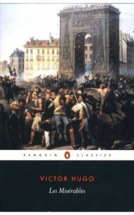 This is the cover of the book Les Miserables by Victor Hugo. This also links to the downloadable PDF, EPUB, AZW3 and MOBI versions of the book for free on Snewd.com.