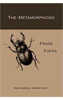 This is the cover of the book The Metamorphosis by Franz Kafka. This picture also points to a copy of the book in PDF, EPUB, AZW3 and MOBI formats available to download for free on Snewd.com.