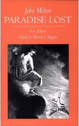 This is the cover of the book Paradise Lost by John Milton. This picture also points to a copy of the book in PDF, EPUB, AZW3 and MOBI formats available to download for free on Snewd.com.