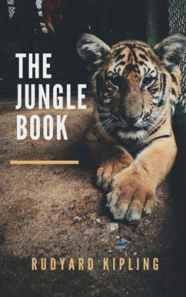 This is the cover of the book The Jungle Book by Rudyard Kipling. This picture also points to a copy of the book in PDF, EPUB, AZW3 and MOBI formats available to download for free on Snewd.com.
