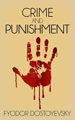 The cover of the book Crime And Punishment by Fyodor Dostoyevsky. This picture also points to a copy of the book in PDF, EPUB, AZW3 and MOBI formats available to download for free on Snewd.com.