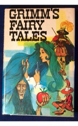 The cover of the book Grimms' Fairy Tales. This picture also points to a copy of the book in PDF, EPUB, AZW3 and MOBI formats available to download for free on Snewd.com.