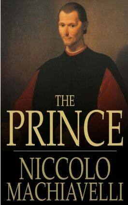 The cover of The Prince by Niccolo Machiavelli